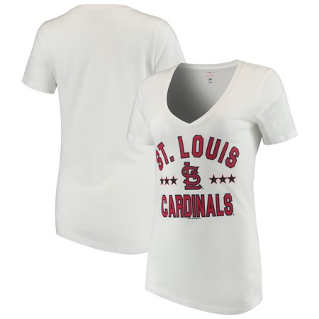 Clothing In The Elizabethan Era (Women's New Era White St. Louis Cardinals V-Neck Short Sleeve)
