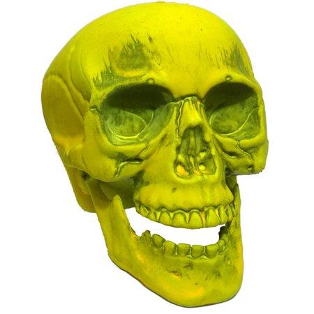 Yellow Skeleton Skull 7
