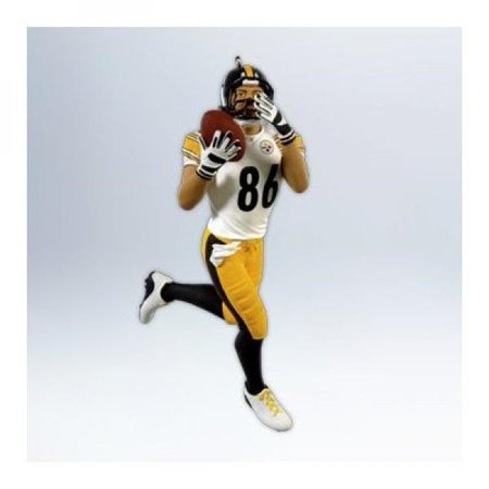 Hallmark 2012 Hines Ward NFL Steelers Ornament](Pittsburgh Steelers Christmas Ornaments)