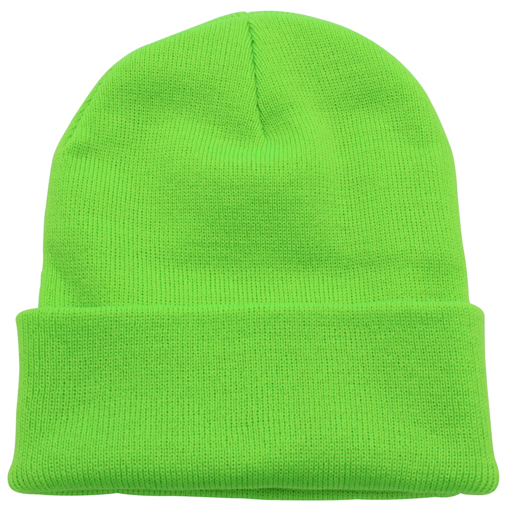 Dickies Mens 14-Inch Cuffed Double Knit Cap Beanie Hat Skull NEW Blue