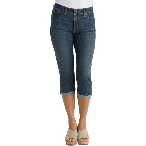 Signature by Levi Strauss & Co. Women's Naomi Capri Jeans
