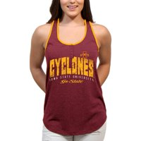 Iowa State Cyclones Choppy Arch Women'S/Juniors Team Tank Top