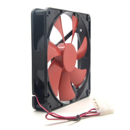 Best silent quiet 140mm pc case cooling fans 14cm DC 12V 4D plug computer (Best Prices On Computer Components)