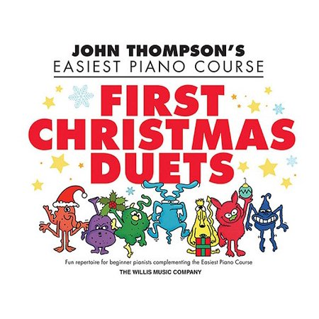 First Christmas Duets : 1 Piano, 4 Hands/Elementary Level