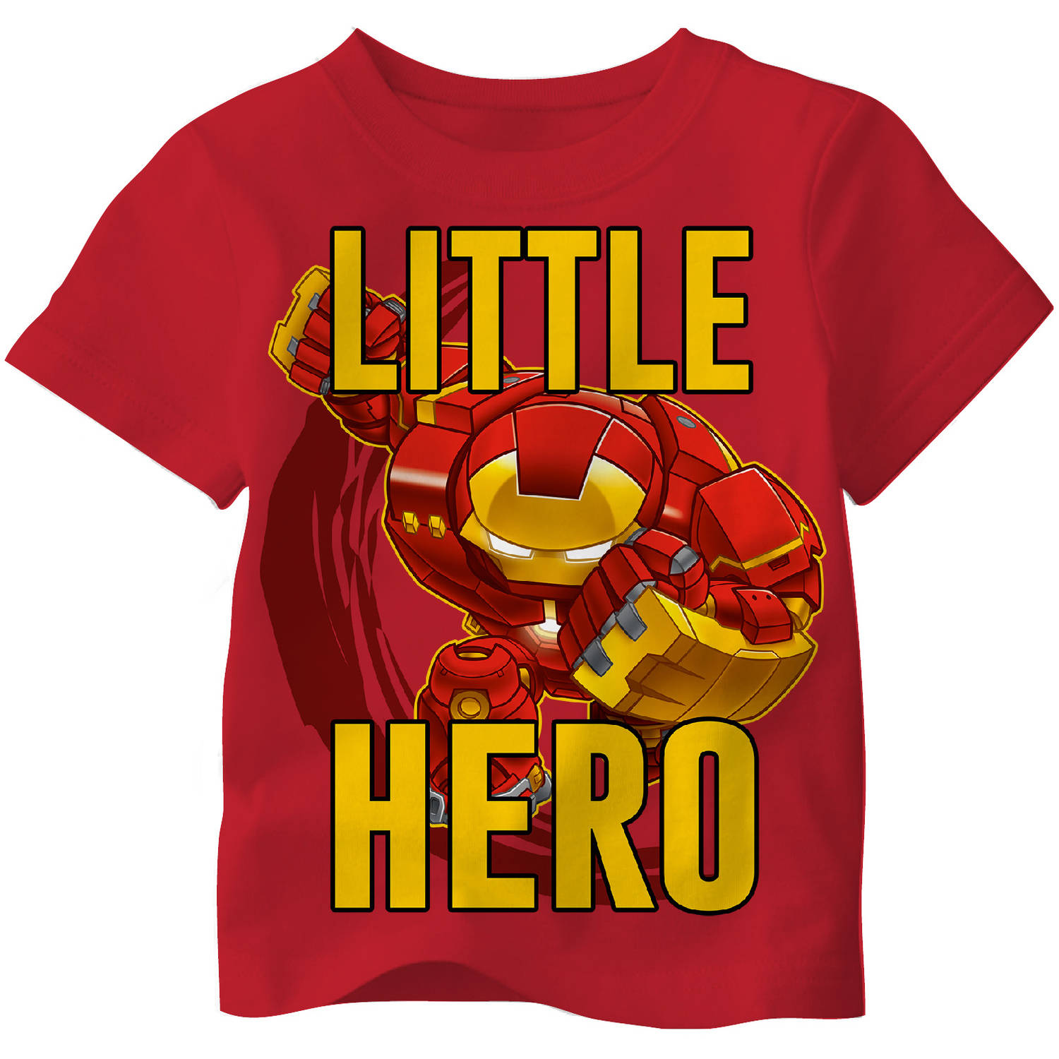 Avengers Toddler Boy Little Hero Iron Man Tee Shirt