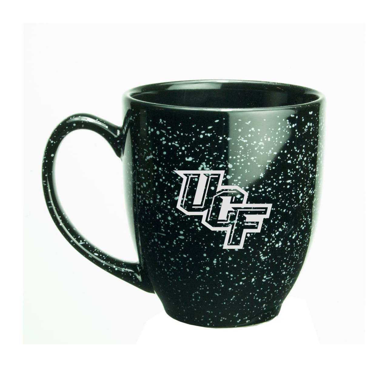 Central Florida Golden Knights 15 oz. Deep Etched Black Bistro Mug