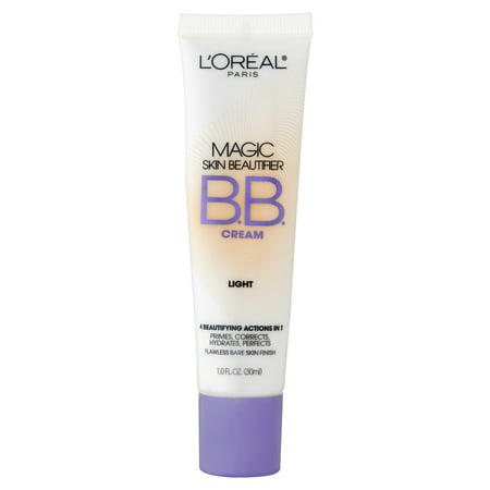 Magic Skin Beautifier BB Cream, Light (Best Cc Cream For Redness)