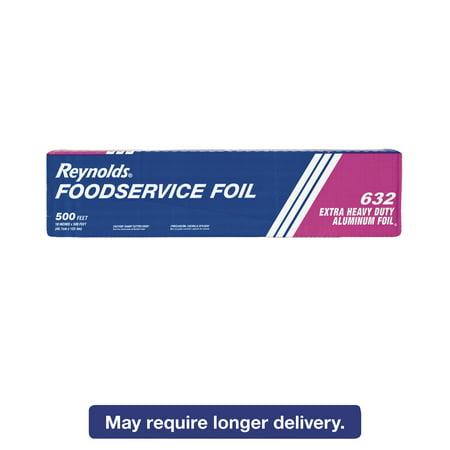 Heavy Duty Foil - Reynolds Wrap Extra Heavy-Duty Aluminum Foil Roll, 18