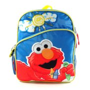 Small Backpack - - Elmo - Big Sun New School Book Bag 078335