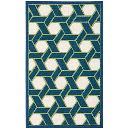 Waverly Wav11 Fancy Free And Easy Ocean Area Rug