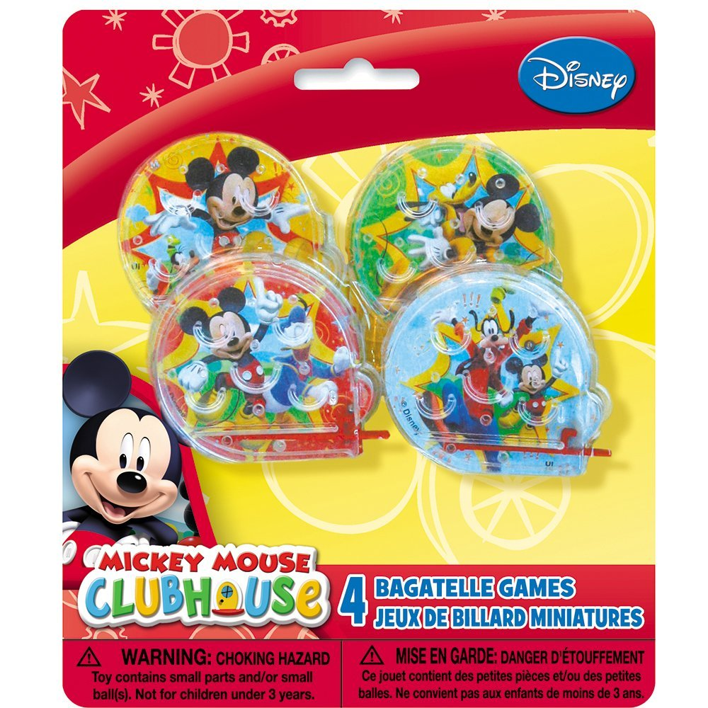 Clubhouse Ball Maze Games, 4ct By Mickey Mouse by