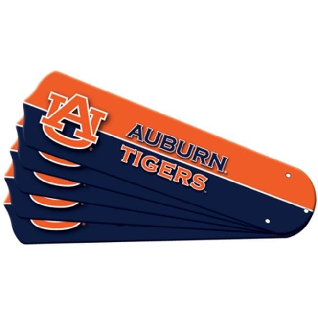 Ceiling Fan Designers 7992-AUB New NCAA AUBURN TIGERS 42 in. Ceiling Fan Blade Set
