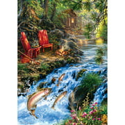 MasterPieces Up Stream 1000 Piece Puzzle