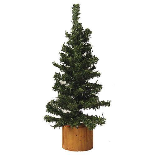 "9"" Mini Pine Artificial Village Christmas Tree - Unlit"