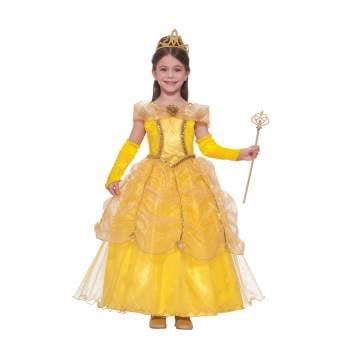 Golden Retriever Halloween Costumes (Golden Princess Child Halloween)