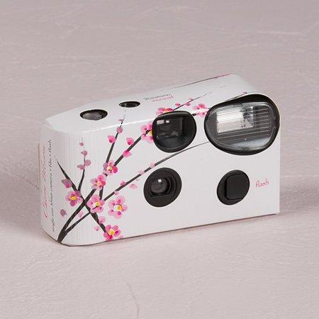 Cherry Blossom Single Use Spring Wedding Favor - Camera Spring