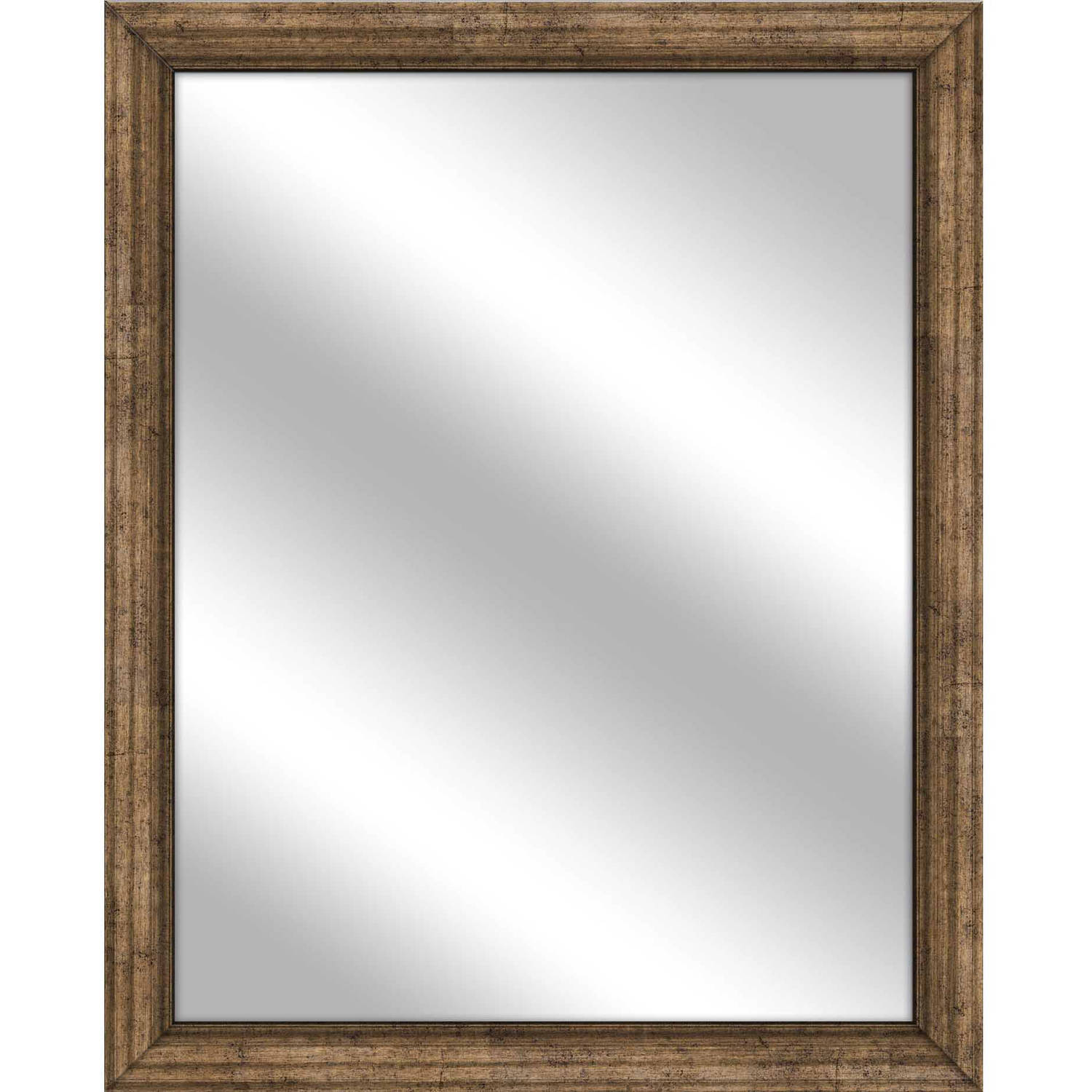Vanity Mirror, Dark Champagne, 25x31 by PTM Images