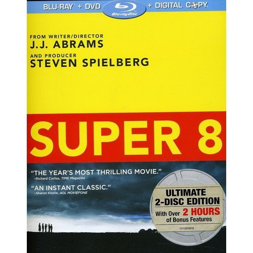 Super 8 (Blu-ray + Standard DVD) (With INSTAWATCH) (Widescreen)