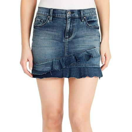 Jessica Tailored Skirt Suit (Women's Ruffle Denim Mini Skirt)