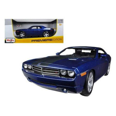 2006 Dodge Challenger Concept Blue 1-18 Diecast Model Car