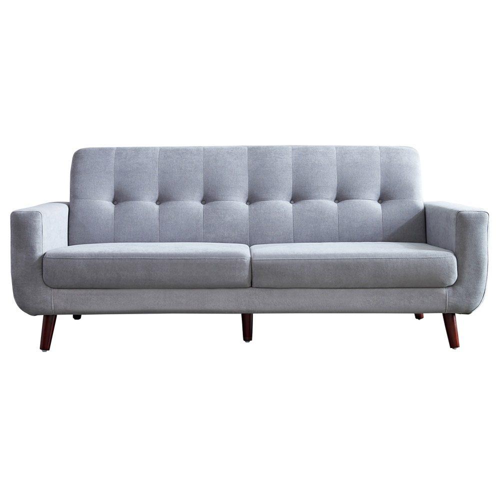 Tufted Contemporary Sofa Segmart 9 6 X33 4 X 34 6 Mid
