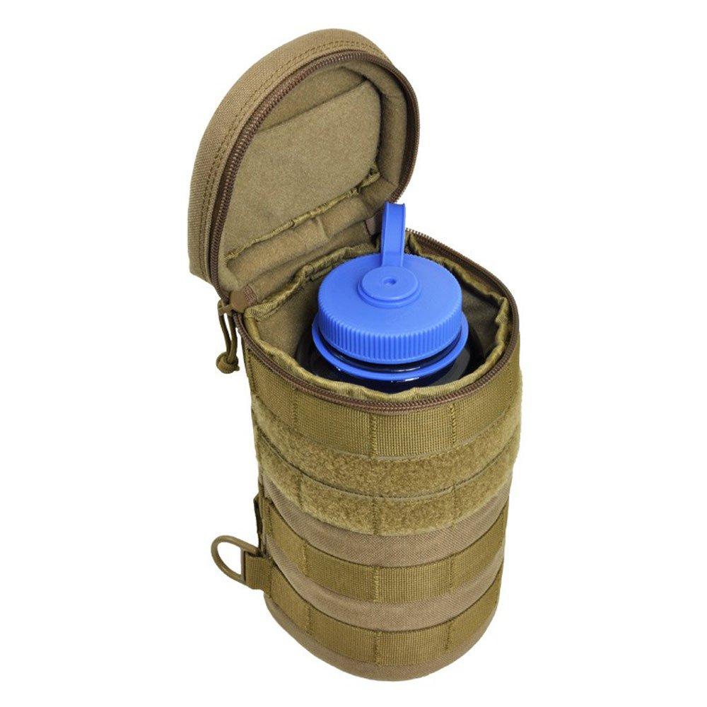 Hazard 4 Jelly Roll Large Camera Lens Water Bottle Padded Carry Case, Coyote