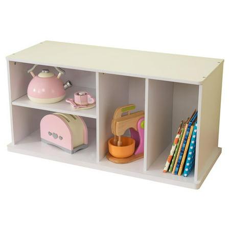 KidKraft Stackable Storage Unit with Shelves, Multiple Colors