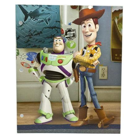 Disney Pixar's Toy Story Buzz and Woody Best Buds Kids Folder (Action Folder Halloween)