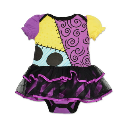 nightmare before christmas nightmare before christmas baby girls sally tutu bodysuit costume dress walmartcom
