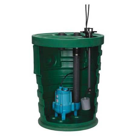 Sewage System,4/10HP,4inx3in,8.5A,20 ft. LITTLE GIANT 9SF2V3D