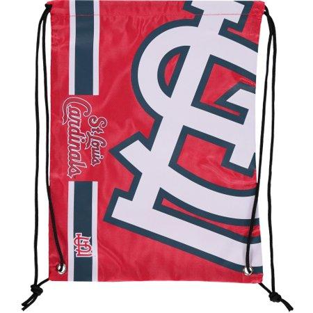 Logo Drawstring Backpack - St. Louis Cardinals Big Logo Drawstring Backpack - No Size