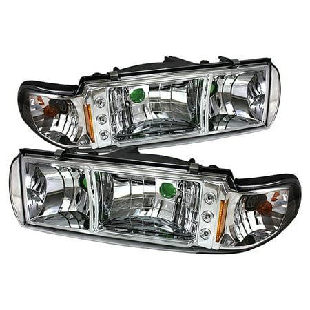 - VIPMOTOZ Headlight Assembly For 1991-1996 Chevy Caprice & Impala SS