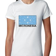 Micronesia Flag - Special Vintage Edition Women's Cotton T-Shirt
