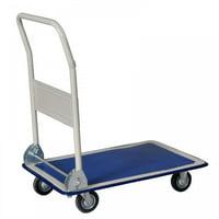 Product Image Platform Cart Dolly Folding Foldable Moving Warehouse Push Hand Truck
