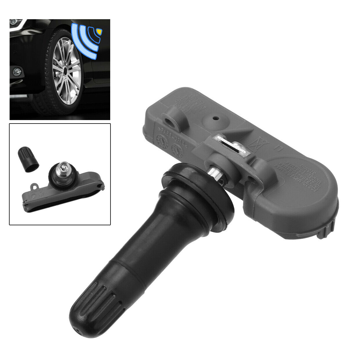 Details about  /4Pcs Tire Pressure Monitoring System Sensors TPMS For Chevy Cadillac GMC Saturn