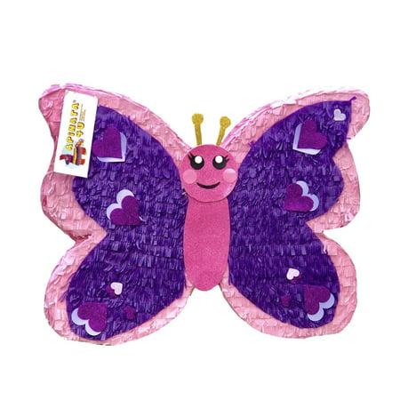 APINATA4U Butterfly Pinata Pink & Purple - Butterfly Pinata