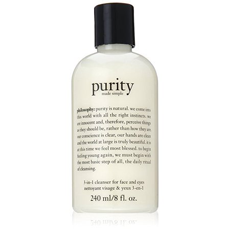 Philosophy Purity Made Simple 3-in-1 Cleanser For Face & Eyes, 8 Oz