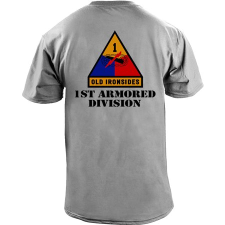 Army 1st Armored Division Full Color Veteran T-Shirt