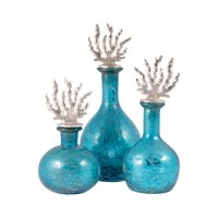 Reef Set Of Three Decanters