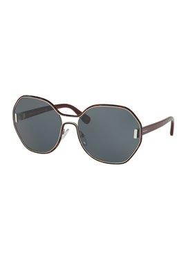 395560241d Product Image Prada 0PR 53TS Full Rim Irregular Womens Sunglasses - Size 62  (Grey)