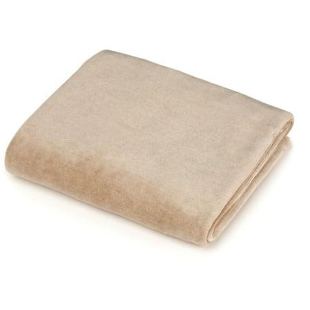 American Baby Company Organic Cotton Velour Bassinet Sheet