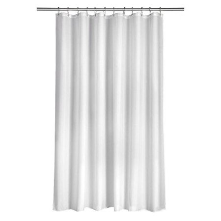 croydex ae100022yw plain shower curtain white. Black Bedroom Furniture Sets. Home Design Ideas