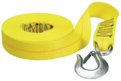 "Fulton WS20HD0200 2"" x 20' Winch Strap with 10,000 lb Break Strength by Cequent Trailer Products"