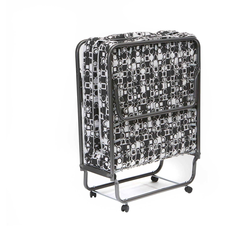 perlato folding bed rollaway twin guest. Black Bedroom Furniture Sets. Home Design Ideas