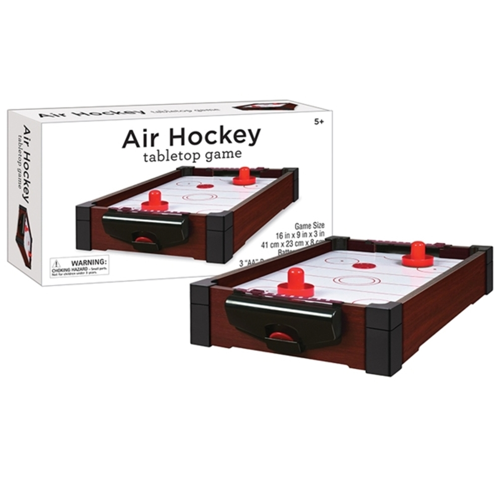 Tabletop Air Hockey 16inch Game, More Pop Culture by Westminster Inc. (HK) Ltd. by Westminster Inc. (HK) Ltd.
