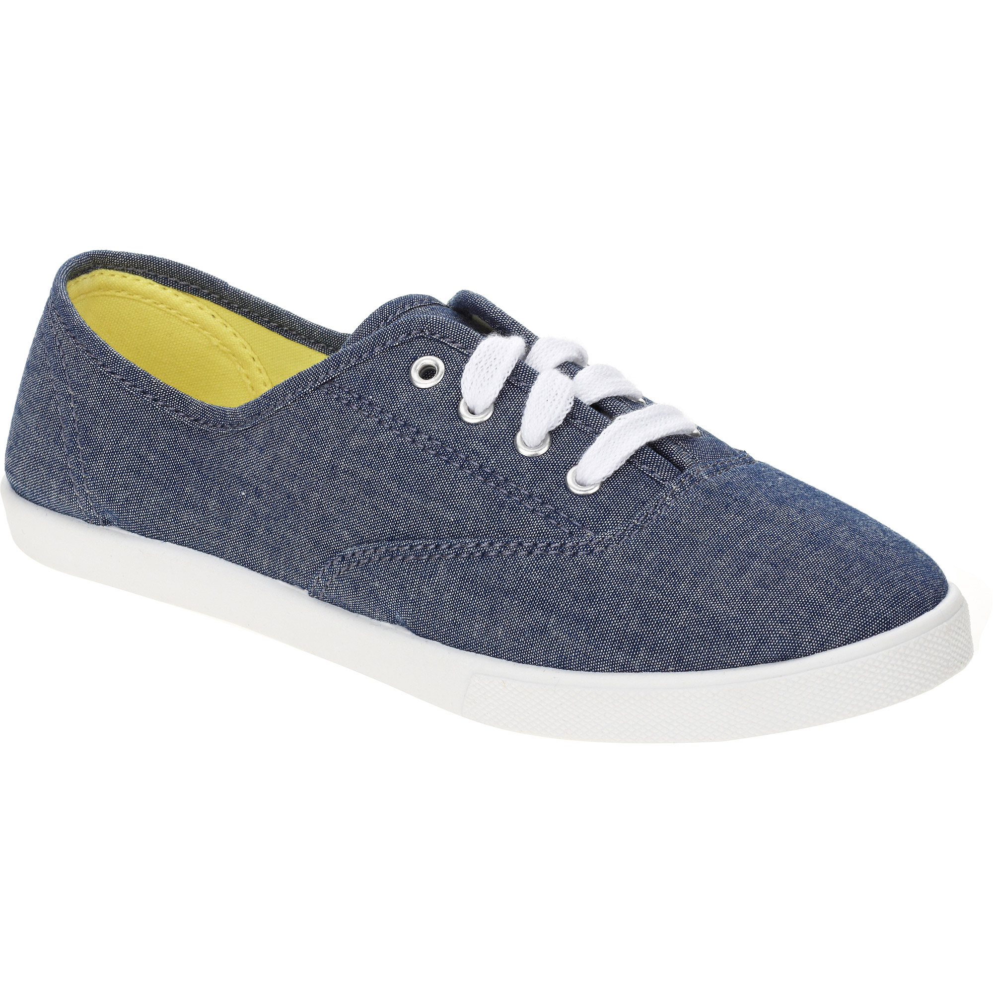 Stylish Lace Up Casual Canvas Shoes Yellow Landscape Sneaker For Men And Women  1SPPJ0GXY