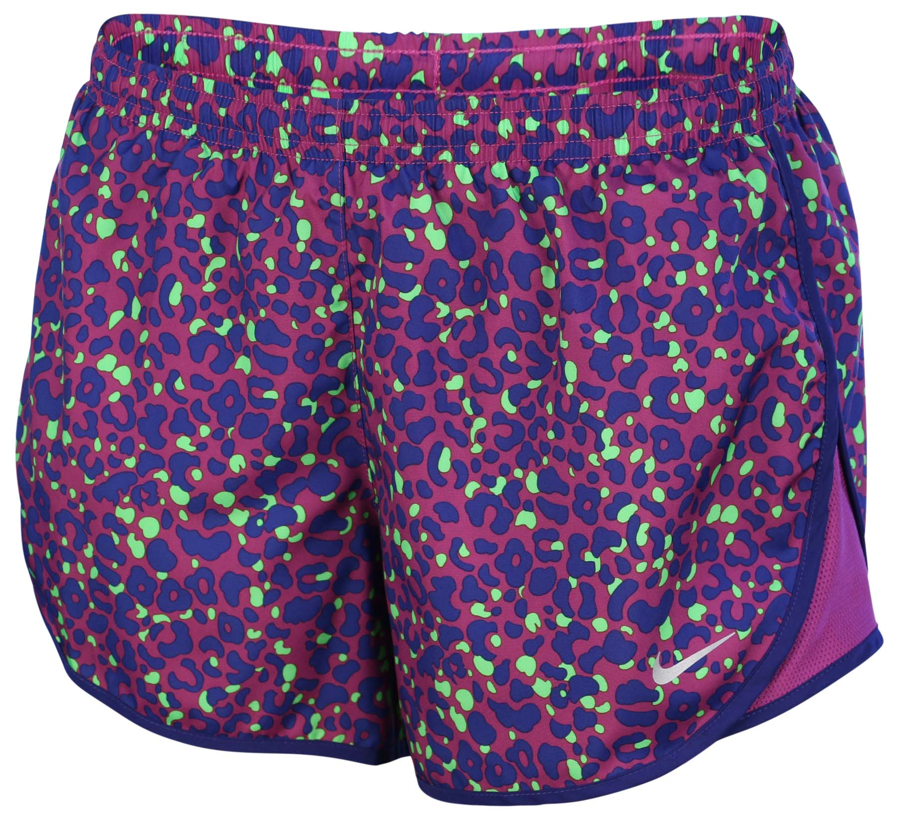 Nike Women's Dri-Fit Lotus Modern Tempo Running Shorts-Purple Dusk/Navy