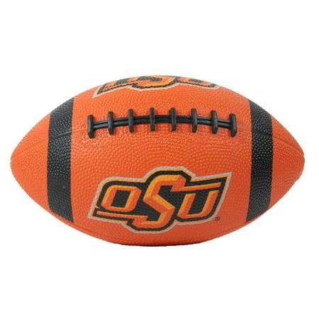 Oklahoma State Cowboys Mini Rubber Football (Personalized Mini Footballs)