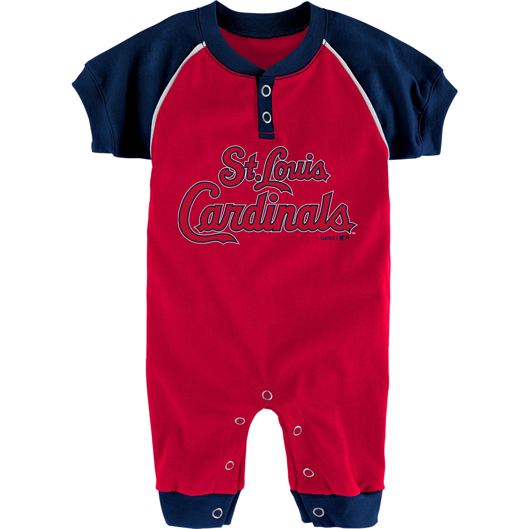 St. Louis Cardinals Newborn & Infant Game Time Jumper - Red/Navy
