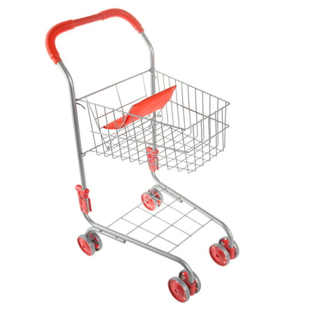 Pretend Play Shopping Cart- Toy Grocery Cart With Pivoting Front Wheels and Folds for Easy Storage for Kids, Boys and Girls By Hey! Play!](Shopping For Toys)